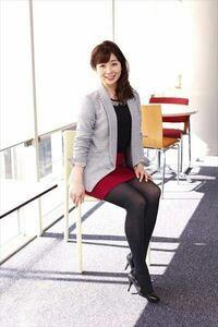 テレビ朝日の松尾由美子アナてかわいいですか?