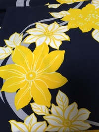 この浴衣にはどういう色柄の帯が合うと思いますか? 付属してきたのは黄色の作り帯でしたが、平帯を追加で買おうと思っています! みなさんのご意見をお聞かせください(^-^)