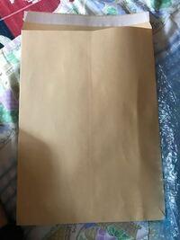 メルカリ ラクラクメルカリ便について 色紙を出品したので、送ろうと思いますがこの封筒に色紙を入れて、コンビニに持っていくだけでいいのでしょうか?