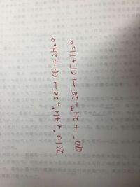 次亜塩素酸イオンを酸化剤として作用させる時の半反応式は 2ClO^(-1)がcl2になるのとcl^(-1)になるのの2通りあるのでしょうか?