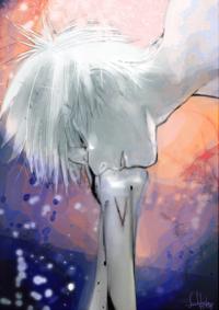東京喰種 これって誰ですか?よく見たらメガネしてるので有馬ですか?そして何のシーンでしょうか?頬杖?