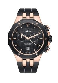 この時計どう思いますか? 現在私服用の時計を予算20万円くらいで探しています。  ウブロに憧れているのですが、価格的にとても手が届きません。 そんな中ウブロっぽいこの時計を見つけて購入を検討しています。  現物を百貨店まで見に行ったのですが、そんなに安っぽさも感じませんでした。  見た目重視で探しているのですが、このEDOXというブランド、またこの時計をどう思いますか?  ...