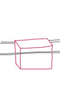 UFOキャッチャーの取り方について。 棒と棒の感覚が狭く、その間に景品が挟まっている状態が初期位置のものがあるのですが、その場合どのようにしたら取りやすいのでしょうか。 簡単に画像に するとしたのような感じです。