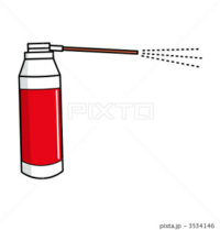 畳にジュースなんかをこぼした場合、水拭き→空拭き で 最後に軽く殺虫剤をスプレーしたりしますか?