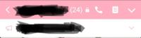 LINEのこのメガホンのマーク何ですか。何もならないんですか?