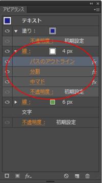 よろしくお願いいたします。 イラストレーターで添付の赤丸部分の作成方法がわかりません。 使用はillustratorCS6です。