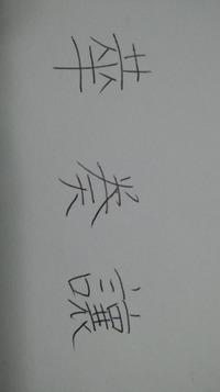 戒名の読み方。  祖母から過去帖と家系図の整理を頼まれてデータ化中なのですが、戒名に読めない漢字があるので、わかる方、教えてください。 書いた人が亡くなってから50年以上経っているので、旧字だとはおもうのですが・・・。1文字でも教えていただけたらありがたいです。  よろしくお願いします。