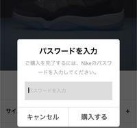 SNKRSアプリの質問です。 パスワードを入力したらすぐ購入完了になるのでしょうか? 住所の確認等の画面が出てから再度 購入ボタンが出るのですか? アプリが出てからまだ購入したことがな く、 抽選でほし...
