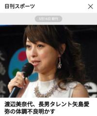 タレント渡辺美奈代(48)はどうですか?