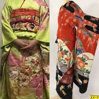 近々成人式の前撮りをします。振袖なのですが黄緑の祖母の振袖と新しく買おうと思っている赤い琉球紅型の振袖があります。高級感、格式、目立ちなど、どちらの振袖がいいと思いますか?