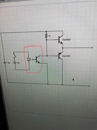 プッシュプル回路回路について質問です。 IGBTを駆動する回路に以下のようなプッシュプル回路を作ろうと思っています。以下のような感じで良いでしょうか? あと赤色で囲ってあるところは、フォトカプラとして考...