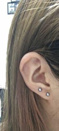 この耳の形でインダストリアルをすることは可能ですか?