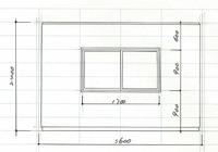 製図についてです。 室内の断面図で窓を書く時、書き方は立面図と同じ書き方ですか?