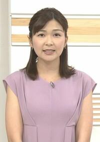 おはよう日本の山神明理さん、藤色のワンピースは似合っていましたか。