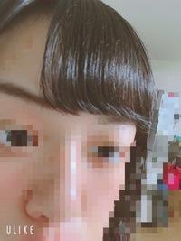 前髪のセットについて質問です!  私はアイロンでセットすると画像のように、先の方だけ浮き出て花輪くんのなりかけみたいになってしまいます…  原因や、治し方が分かる方、教えてください !