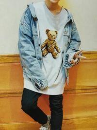 初めて質問を投稿致します。 松島聡君がよく着ているこちらのクマのTシャツはどこのブランドでしょうか。milkboyでしょうか。教えて頂きたいです。よろしくお願い致します。