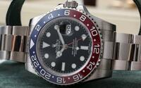 数年前ロレックスからGMT赤青ホワイトゴールド116719BLROが発売された時、某有名時計店で店長から『これでGMT赤青のステレンスモデルの発売は望めないでしょう』と言われ、少しガッカリしていま した。 しかし、...