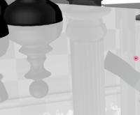 MMEのWorking Floorについて MMDでWorking Floorを読み込んだのですが、床の模様が出てきません。 一度自分で調べてみたところ、描画順を変えると良い(pmxファイルの場合は問題なし)と聞いたのですが、このステージはpmxファイルなのでどうしたら良いか分かりません。  回答宜しくお願いします。