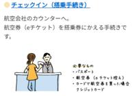 画像には、 チェックインカウンターで、チケットを 購入する際に使用した クレジットカードも必要 とありますが、 成田空港 のサイトには 航空券と パスポートのみ必要と ありました。 チェックインカウンターで ...