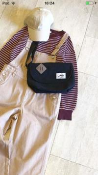 ハニーズのインスタに載っているこのメッセンジャーバッグのブランド、または品番が知りたいです。 わかる方よろしくお願いします。 ♀️