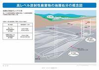 地下にある高レベル放射性廃棄物の最終処分場は日本のどこにあるんですか?