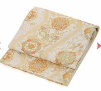 訪問着に写真の袋帯は合わせられますか ?  30代前半の既婚です。 今度、友人の結婚式で訪問着を レンタルしているのですが、 レンタル料金に含まれる帯は 選べないため、着物に合った帯を 単品でレンタルしよう...