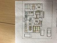 はじめまして こちらの間取りどう思いますか? 完全同居型の2世帯住宅の1階部分です。 水回り同線は同居なので なるべくリビングを通らない廊下を挟んだ 間取りにしています。 仏壇があるので和室は3畳程度...