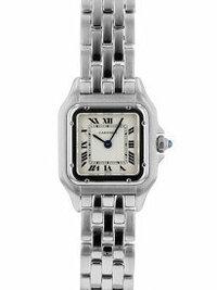 カルティエ パンテールの腕時計について。   先日ネットでパンテールのSSを中古で購入しました。  ずっと欲しかったもので、 カルティエで下見した際は ベルト部分全てが鏡面仕上げにな っておりましたが...