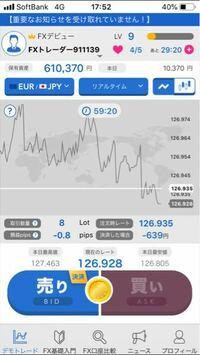 FXのアプリをいれてやってみたんですが、今10000円ほどアプリ内で儲けました。 FXについての知識はほとんどないので教えていただきたいのですがですが、実際のFX口座でもこのような感じで儲けることができるので...