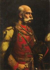 フランツ ヨーゼフ1世のこの肖像画はウィーンのどこに行けば見られますか?