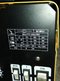 家庭用ノンガス半自動溶接機MIG−130Aの電源がブレーカー100Vー30Aにしてますが、昇圧器使用し溶接するとき昇圧機の2kvaなんですが容量不足になりませんか?教えて下さい