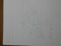ACの中点をDとし、<BACの二等分線とBCの交点をEとする。AEとBDの交点をFとするとき □CDFE、△BEF、△ADF (S1、S2、S3)の面積を求めよ。 AB=16、BD=12