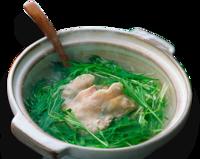 水菜と豚肉の鍋…ハリハリ鍋はポン酢ですか?