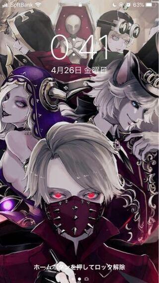 これって誰の絵ですか ホーム画面で見づらいかもです ちなみにi Yahoo 知恵袋