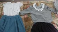 [至急‼‼‼‼]  カラオケに行くときの服   5月6日午前11時に家を出るので、急いでます!  男女5人でカラオケに行きます。 服はどちらがいいと思いますか?  ⚪白の半袖ブラウス  水色 のスカート(膝下)...