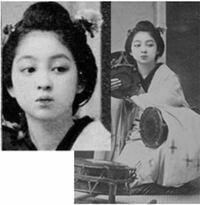 この写真は、美人と言われた江良加代ですか。 江戸時代にも、こんなアイドル顔がいたのですね。