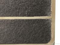 風呂場の床(タイル)について質問になります。 画像の通りタイルとタイルの間の溝がだんだんと黄ばんでるのですが・・・ どうすれば白くなりますでしょうか? タイルと溝はコンクリートみたい な素材です  ・...