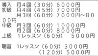 ピアノのレッスンを受けたくて月謝を調べたんですけど、例えば1段目の「月4回(30分)6000円」っていうのは、月に30分のレッスンが4回の合計が6000円だと思いますか? それとも1回30分のレッスンが6000円×4回で合計24000円でしょえか? 分かりにくくてすみません( ; ; )
