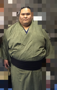 写真のお相撲さんの名前がわかる方いますか? お願い致します。 相撲 相撲取り 力士