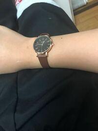 ネットで時計を見てたところ間違えてレディースの時計を買ってしまいました。男でこの時計はおかしいですか?周りからおかしいと思われますか?