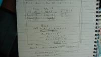 a1=2, a(n+1)=3an+8の漸化式は何とか解けました。an=2(3n乗-2)となりました。 次なんですが、a1=2,a(n+1)=2an+4(n+1)乗が解けないので、詳細まで解答宜しくお願いします。  なお、一番上の問題は添付した写...