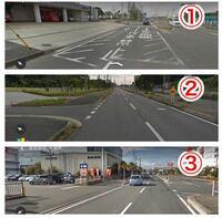 優先道路に流入してくる以下の3つのケースにおいて、優先道路側が渋滞した場合に、①については、渋滞車両などにより、流入を妨げてはいけないのはしってます。 ②や③の場合はどうなのですか?  ②一般道路からの流...