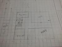 課題で 2階1戸建てを考えているのですが 部屋の配置がイマイチ分かりません このような配置で大丈夫でしょうか? 又 ベランダは何畳ぐらいあればいいのですか?
