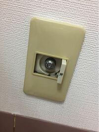 引っ越した先での部屋にこれがあったのですが、これはなんですか?ガス栓ですか?