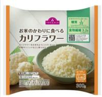 トップバリュの冷凍カリフラワーをご飯代わりに食べたら糖質カットができると話題になってますが、 カリフラワーはお米の食感と似ているんですか?カリフラワーを食べた事がないのでどうなのかなと想っています。