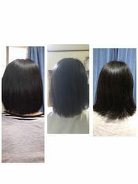 髪伸びるの早いですか?! 1ヶ月ごとの写真です.左から順に.