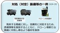 海自のイージス システムは 弾道ミサイルだけではなく、攻撃してくる戦闘機、対艦ミサイル、巡航ミサイルまで 迎撃可能で BMD迎撃用のスタンダードミサイルだけではなく、短距離用のシースパローミサイル、 5インチ砲もCIWSファランクスもコントロール可能な 長、中、短距離防衛を行えるシステムと書いてあります。 . 陸自のイージス アショアの資料には 基地防空用に別に短距離地対空誘導弾部隊を配...