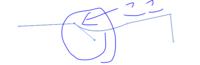 Illustratorでの方向点の追加方法。  下記の画像のような状況の時、つまりあるアンカーポイントから片方にだけ方向点が出ているという状態です。 そのアンカーポイントにもう一つ方向点を追加したい場合、アン...