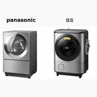 hitachi ヒートリサイクル 風アイロン ビッグドラム BD-NX120CL  か  Panasonic Cuble NA-VG2300L  値段やデザインの好みは割と似てるので、どちらにするか決めかねています。  別でガス乾燥機を導入する為、乾燥...