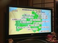 福島県は毎日放射線量の数値が天気予報と一緒に通知されますが、こんなとこ住みたいですか?  今でも全然放射線量多いですよ